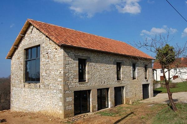 R habilitation d 39 une grange 1930 gourdon - Rehabilitation d une grange en habitation ...