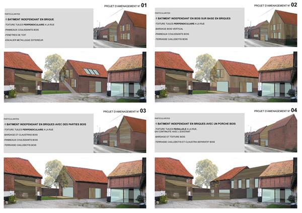 R habilitation d 39 une ferme flamande arques for Architecture flamande